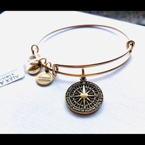 ALEX AND ANI True Direction Compass Bracelet NEW